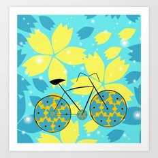 Magical ride Art Print