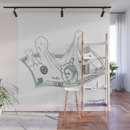 The Ten Dollar Wall Mural