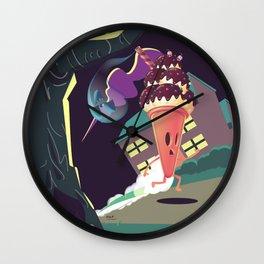 Bad Hair Day - Horror Wall Clock