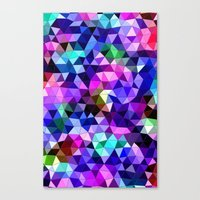 sound Canvas Prints featuring Sound by KRArtwork