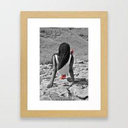 Red Shoes. Framed Art Print