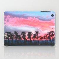 coachella iPad Cases featuring Coachella Sunset by The Bun
