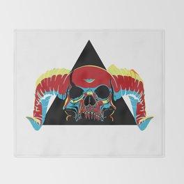 Illuminati Satan - Lucifer Throw Blanket