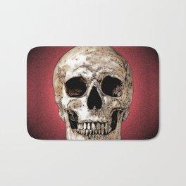Pop art skull Bath Mat
