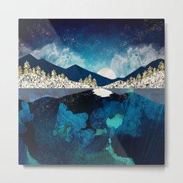 Midnight Water Metal Print