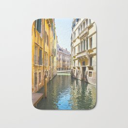 A Gondola Ride through Venice Bath Mat