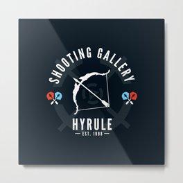 Hyrule Shooting Gallery Metal Print