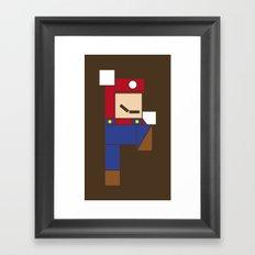 Let's Go Minimal! Framed Art Print