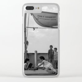Simple Times NYC Clear iPhone Case