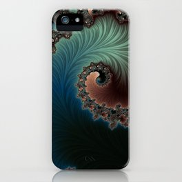 Velvet Crush - Fractal Art iPhone Case
