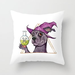 C'est Du Poison Throw Pillow