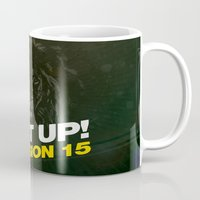 concert Mugs featuring Concert : Get Up Session by Jesss