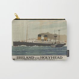 Vintage poster - Ireland Carry-All Pouch