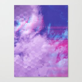 Trail in the Clouds Canvas Print