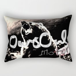 Oursoul motors grizzly Rectangular Pillow