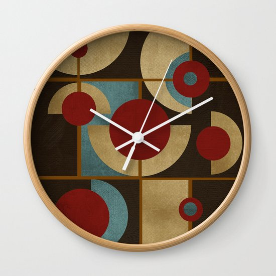 Textures/Abstract 98 Wall Clock