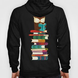 Owl Reading Rainbow Hoody