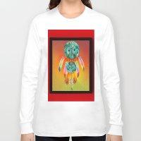 dreamcatcher Long Sleeve T-shirts featuring Dreamcatcher by Ganech joe