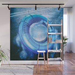 Electric Donut Wall Mural