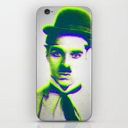 Charlie Chaplin iPhone Skin