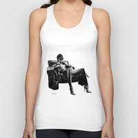leather Tank Tops featuring Hot Leather. by BrittanyJanet Illustration & Photography