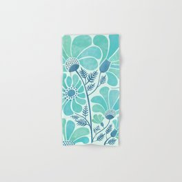 Himalayan Blue Poppies Hand & Bath Towel