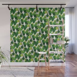 Pilea Peperomioides interior plant Wall Mural