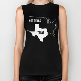 Funny Texas & United States Design Biker Tank