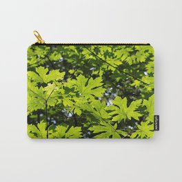 Sun-Dappled Forest in the Spring Carry-All Pouch