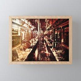The Last Wagon Framed Mini Art Print