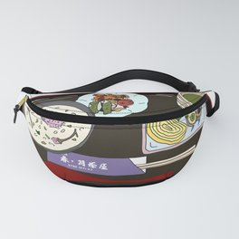 Nara Japanese Lunch Platter Fanny Pack