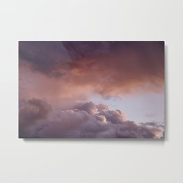 Clouded romance Metal Print