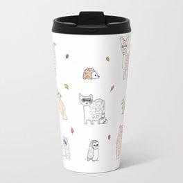Autumn animals Travel Mug