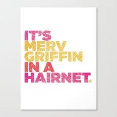 HAIRNET Canvas Print