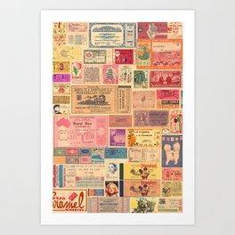 Places, Elsewhere Art Print