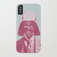 darth vader iPhone & iPod Cases featuring Darth Vader by Les petites illustrations