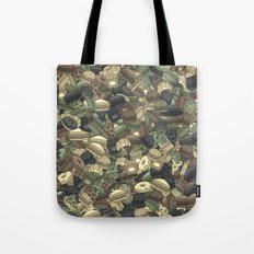 Fast food camouflage Tote Bag