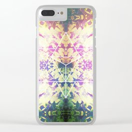 LilyPads Merkaba Clear iPhone Case