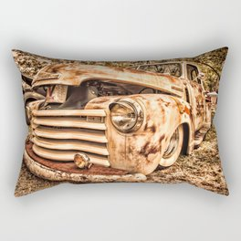 Old pickup ( Photo by Antal Ullmann ) Rectangular Pillow