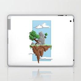 Pixel Landscape : Flying Island Laptop & iPad Skin