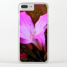 It's Party Time! Clear iPhone Case