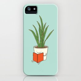 indoor plants iPhone Case