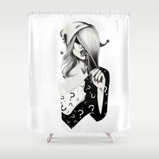 Gotham Masquerade II Shower Curtain