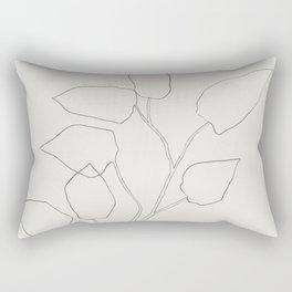 Floral Study no. 5 Rectangular Pillow