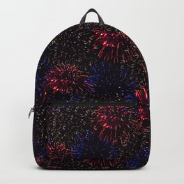 Firecracker Patriot: Red White and Blue Backpack