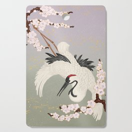 Japanese Crane Cutting Board