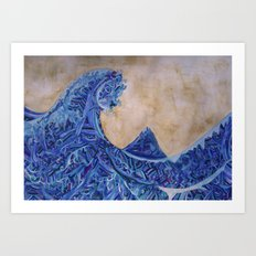 Kanagawa Art Print