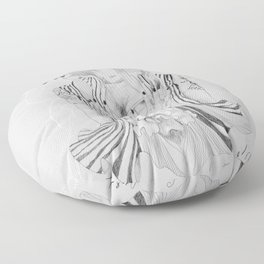Touch Me Butterfly Floor Pillow