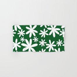 Tiare Flower Green Hand & Bath Towel