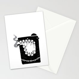 Zombie Hoodlum Stationery Cards